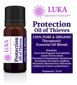 Luka Protection Oil of Thieves 10 ml wirusy bakterie grzyby