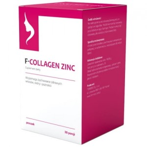 F-COLLAGEN ZINC (30 porcji)